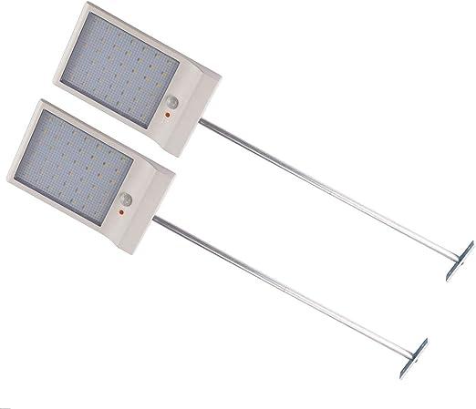Solar Lights Outdoor Garden 36 LED Motion Sensor Walkway Lighting Path Wall Lamp