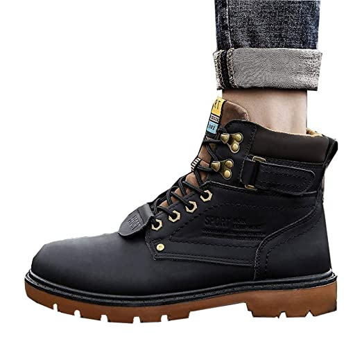 116836d7c85 Amazon.com: Men Mardin Boots, Male Non-slip Wear-resistant Sneakers ...