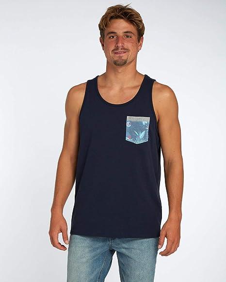 BILLABONG All Day - Camiseta de Punto para Hombre, Hombre, H1JE02, Negro, S: Amazon.es: Ropa y accesorios