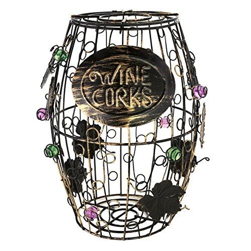 wine barrel wine holder - 6
