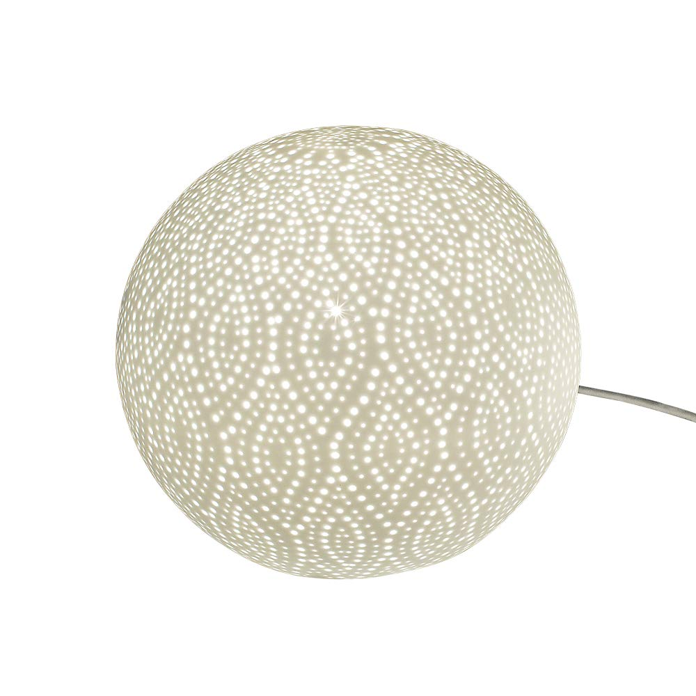 Formano Formano Formano Kugel-Lampe 'Swing Punkte', 21 cm, weiß b47507