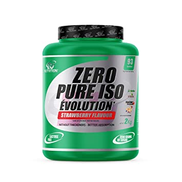 EU Nutrition Zero Pure ISO Évolution Strawberry - 2000 gr ...