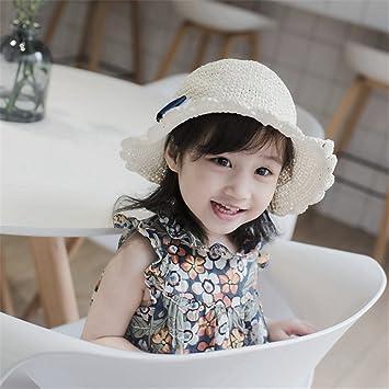 ad3e0c48ea9f5c 麦わら帽子 つば広 ストローハット ベビー 子供 キッズ 女の子 天然草木 手作り 可愛い リポン 蝶結び