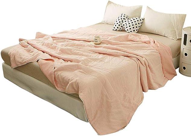 Enjoylife - Colcha fina de algodón para verano, 1 pieza, doble hilo: Amazon.es: Hogar