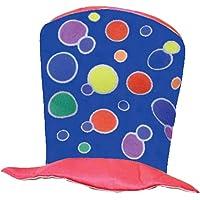 Dress Up America Lindo Sombrero de Payaso Azul