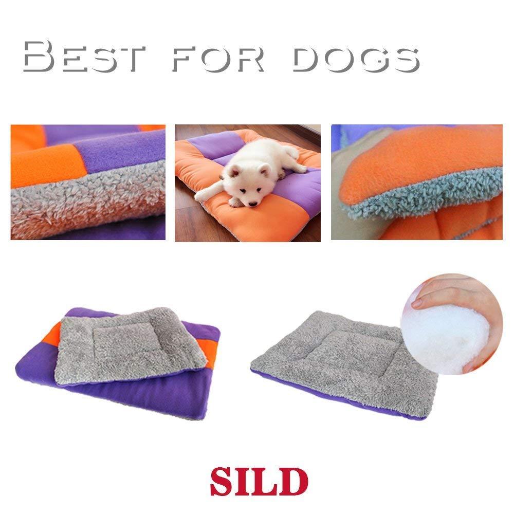 SILD Colchón para Perros Colchón para Mascotas Colchón Reversible para Perros Perros y Gatos Colchoneta Acolchada Suave(XXXL): Amazon.es: Productos para ...