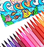 Oytra Water Colour Brush Pens Set of 12 Colours Fun Painting Without Mess