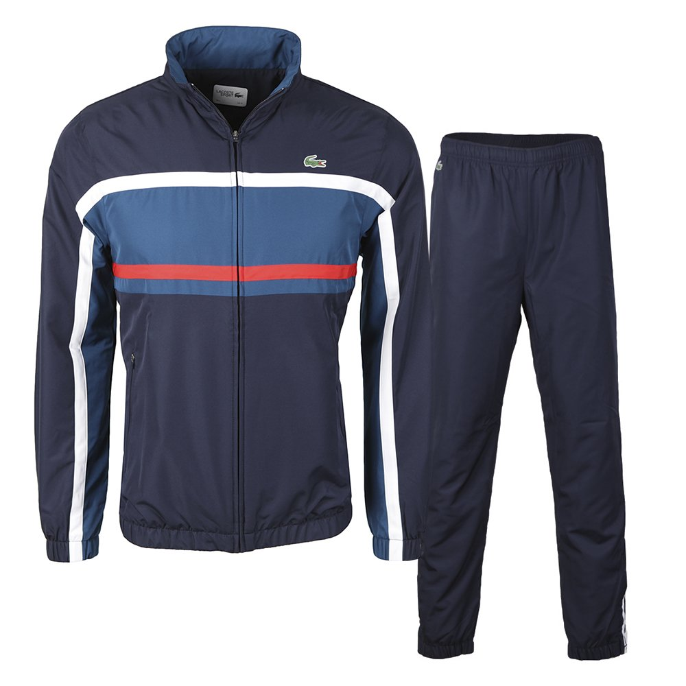 CHANDAL LACOSTE WH9362-S24 MARINO (5): Amazon.es: Deportes y aire ...