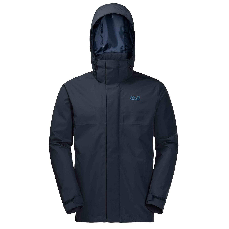 Jack Wolfskin Seven Peaks Jacket Small Night Blue