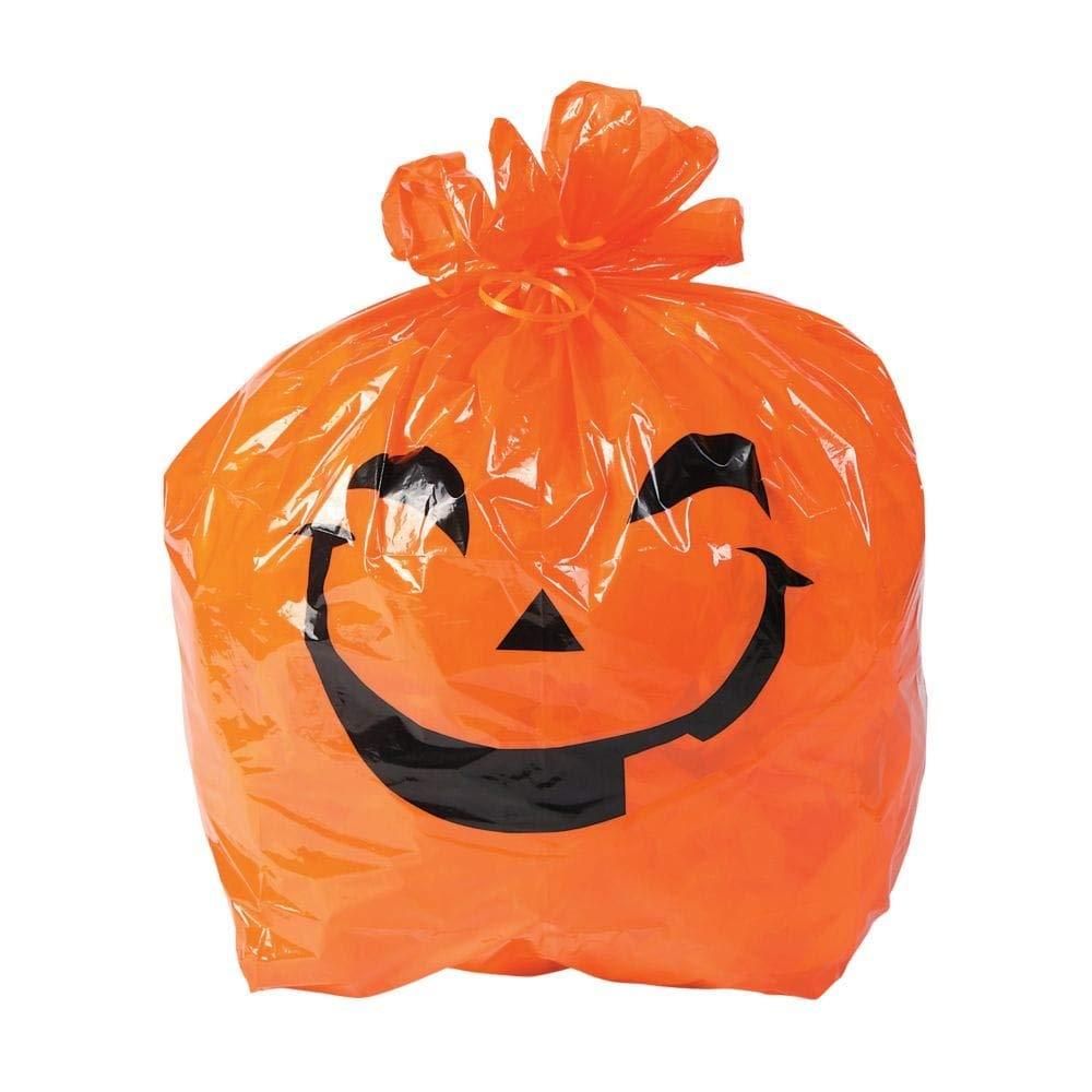 Halloween Pumpkin Yard Bags (1 Dozen Per Order) fun ex