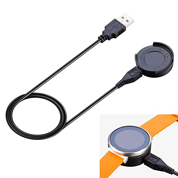 MOTONG Replacement Charger for Huawei Fit Smart Fitness Watch Come with 1M Length Micro USB Cable