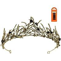 Corona Cristal Tiara con Diamantes Corona Cristal Nupcial Vintage Corona Princesa Tiara de Reina con Diamantes de…