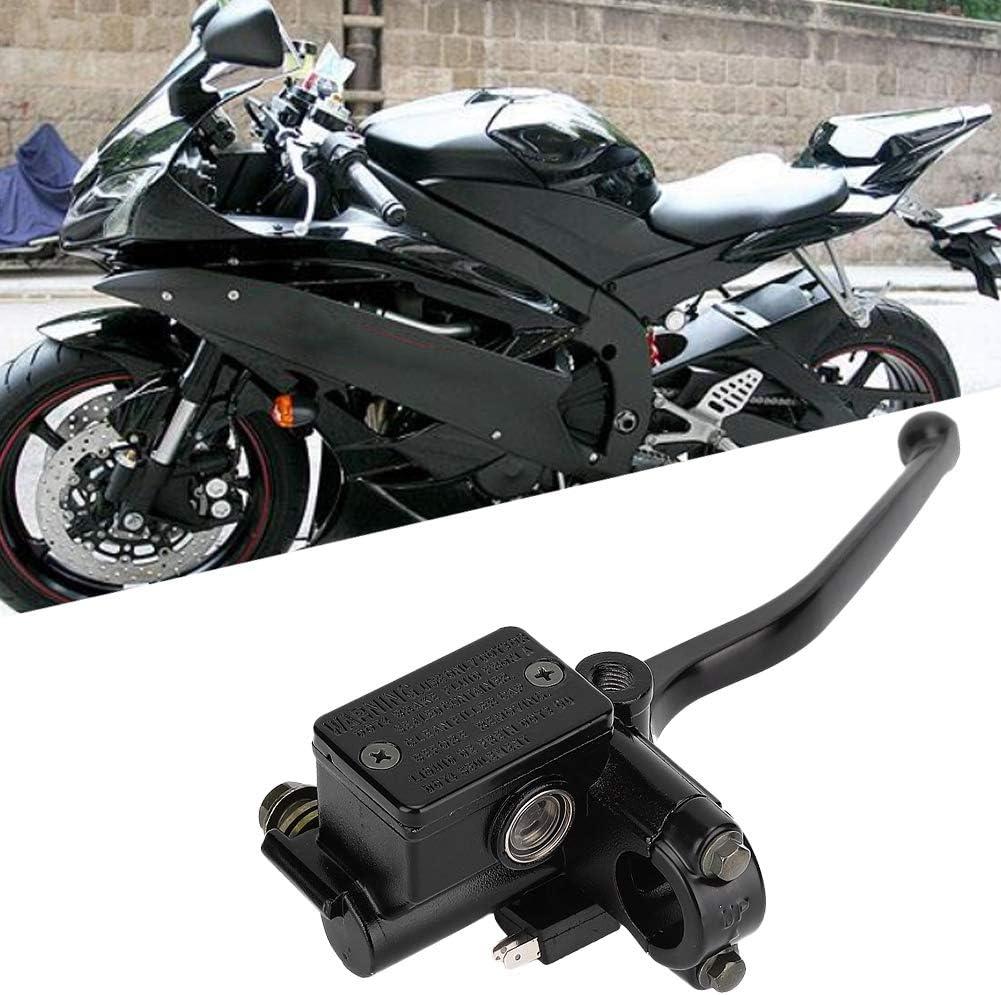 v/éhicule ABS en aluminium droit ma/ître-cylindre de frein adapt/é pour Quad 250 Ma/ître-cylindre de frein moto