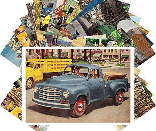 Postcard Set 24pcs Studebaker Truck Commercial Car Classic Vintage Advert Poster