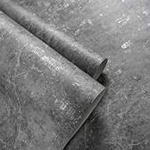 SAEJJ-Retro wallpaper mottled grey cement industry wind plain pure non-woven wallpaper hotel clothing store office