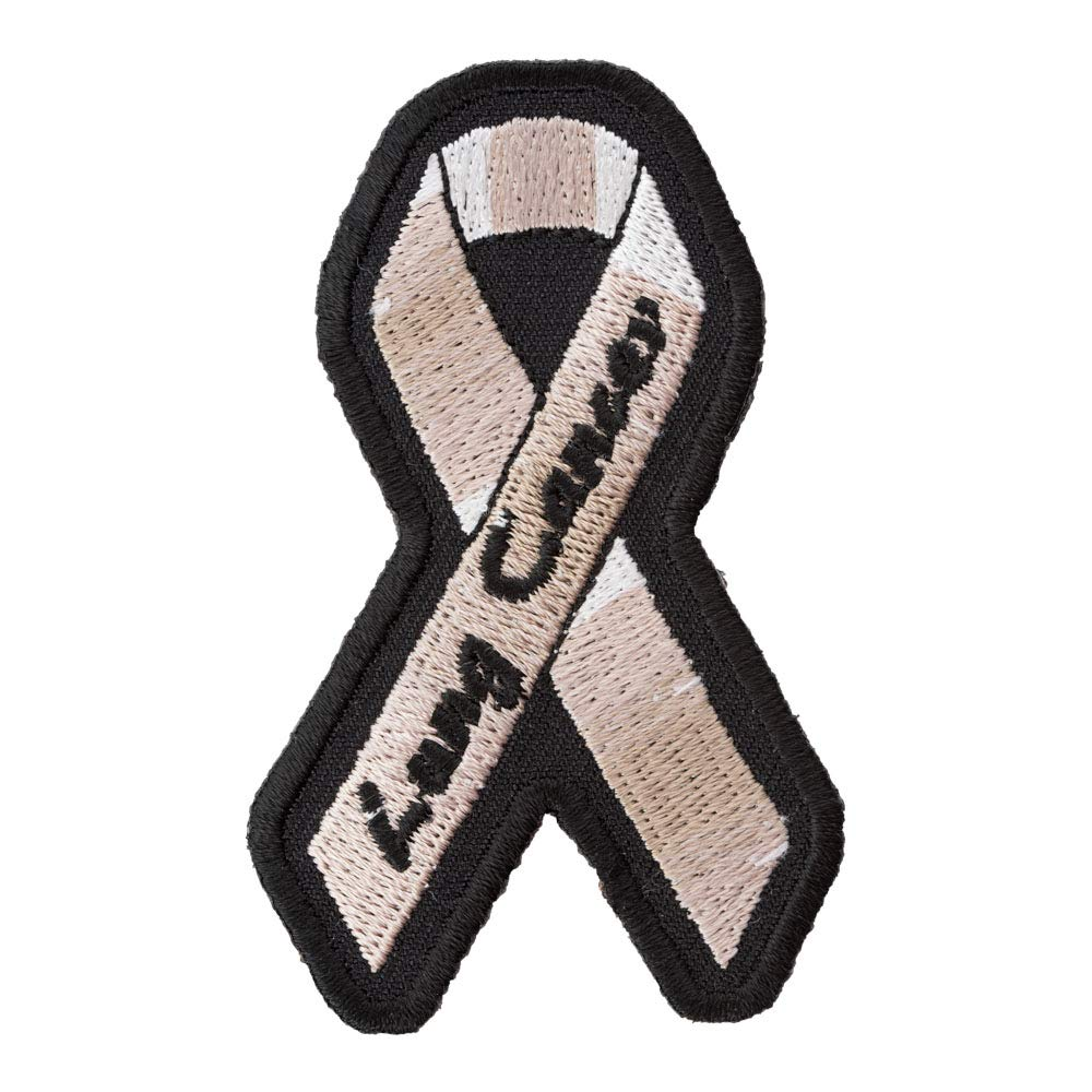 Awareness Patches Lung Cancer Pearl Ribbon Patch