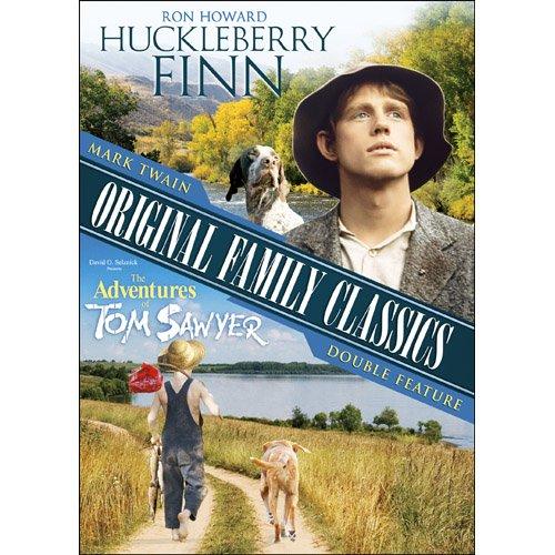 Mark Twain Original Family Classics Double Feature: Huckleberry Finn / The Adventures of Tom Sawyer