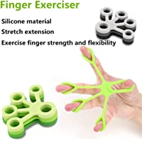 Hand Strengtheners Set:Hand Therapy Stress Balls, Hand Grip Strengtheners, Finger Stretchers for Rehabilitation,Forearm Exercise, Guitar Finger Strengtheners, Rock Climbing, Finger Training