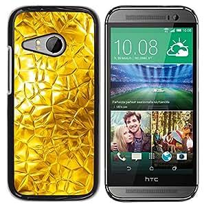 TopCaseStore / la caja del caucho duro de la cubierta de protección de la piel - Abstract Glass Sun Window Bright - HTC ONE MINI 2 / M8 MINI