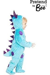 Kids Dinosaur Dragon Monster Fancy Dress Party Halloween Onesie Costume Babies