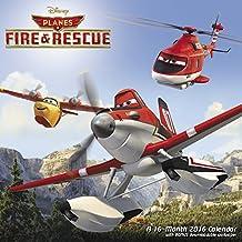 Disney Planes Fire & Rescue Wall Calendar (2016)