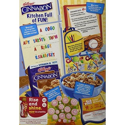 30%OFF Cinnabon Cereal, Crunchy Cinnamon, 9-Ounce Boxes