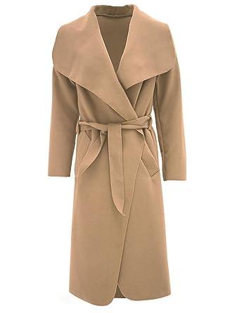 Manteau camel femme look