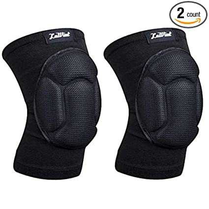 Amazon Com Luwint Youth Volleyball Basketball Knee Pads High
