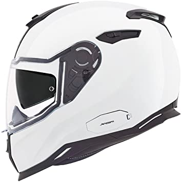 Motocicleta Nexx SX100 Core casco – blanco UK vendedor