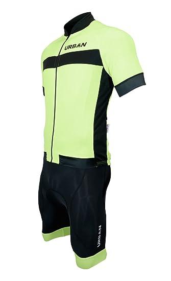 Amazon.com  Men s Safety Yellow Short Sleeve Jerseys 8eef73696