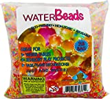 Water Beads Pack Rainbox Mix - 2 Pound Bulk for Orbeez Spa Refill! Kids Sensory Toys, Home Decor, Plant Vases! 32 Ounces! Golden Groundhog Gel Beads!