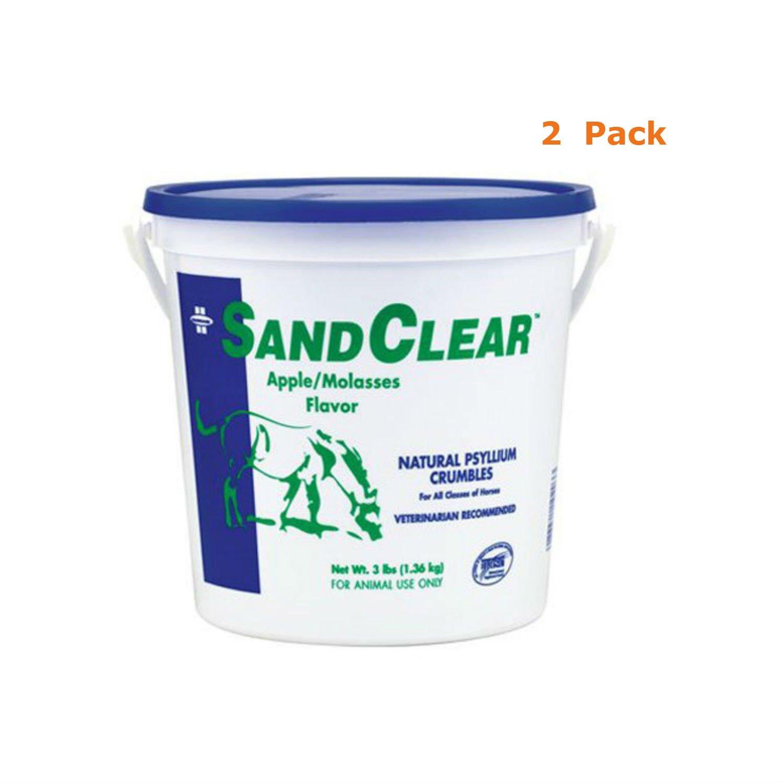 Farnam SandClear Natural Psyllium Crumbles, 3 lbs, 2 Pack