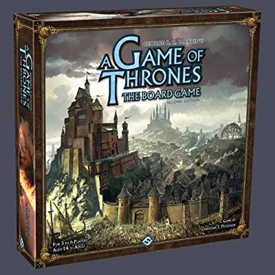 A Game of Thrones The Board Game, 2ème Édition (Version ANGLAISE)