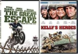 War Classics Bundle - The Great Escape & Kelly's Heroes 2-DVD Double feature Military Set