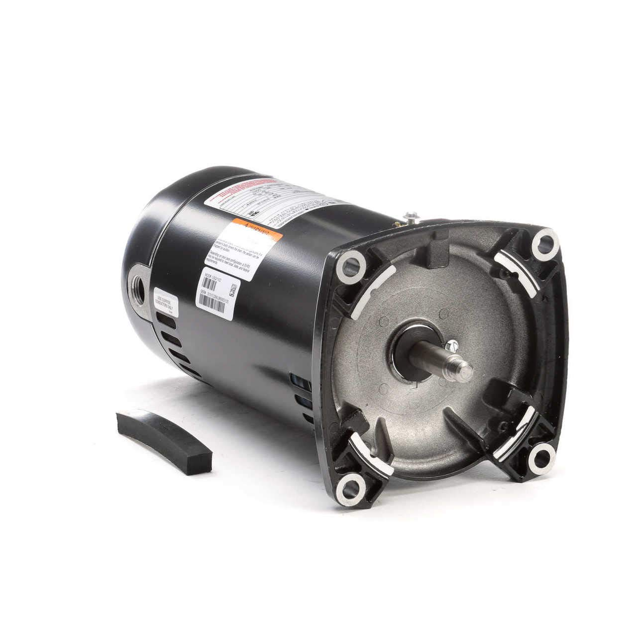 CENTURY SQ1102 Pump Motor,1 HP,3450,115//230 V,48Y,ODP