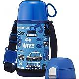 ドウシシャ マグボトル 0.45L ブルーふわふわAir 2WAYこども水筒 DBKS450BL
