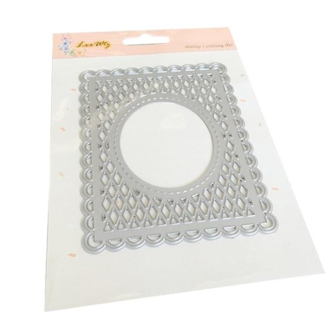 Amazon.com: Die Cut - Troquel de metal para hacer tarjetas ...