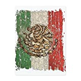 Glass Cutting Board Large Mexican Flag Mexico Grunge