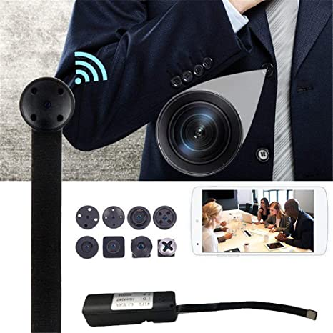 Amazon.com: Fiaya WiFi IP Indoor Wireless Camera, 1080P HD Mini Hidden Camera Security Camcorder Family Safety Mini Camera DVR New Digital: Sports & ...