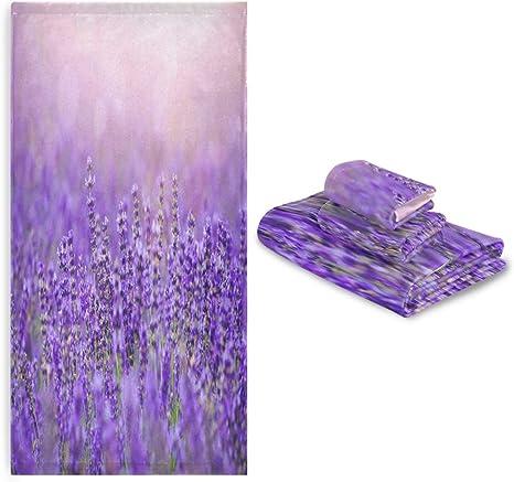 Lavender Fields Pattern English Paper Piecing