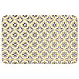 Moorish Splendor Bathroom Rugs: Memory Foam (24 X 36 inch) Incrediby Soft Memory Foam Spa Quality