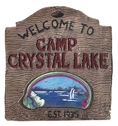 No Crystal Ruby - Rubie's Friday the 13th Camp Crystal Sign