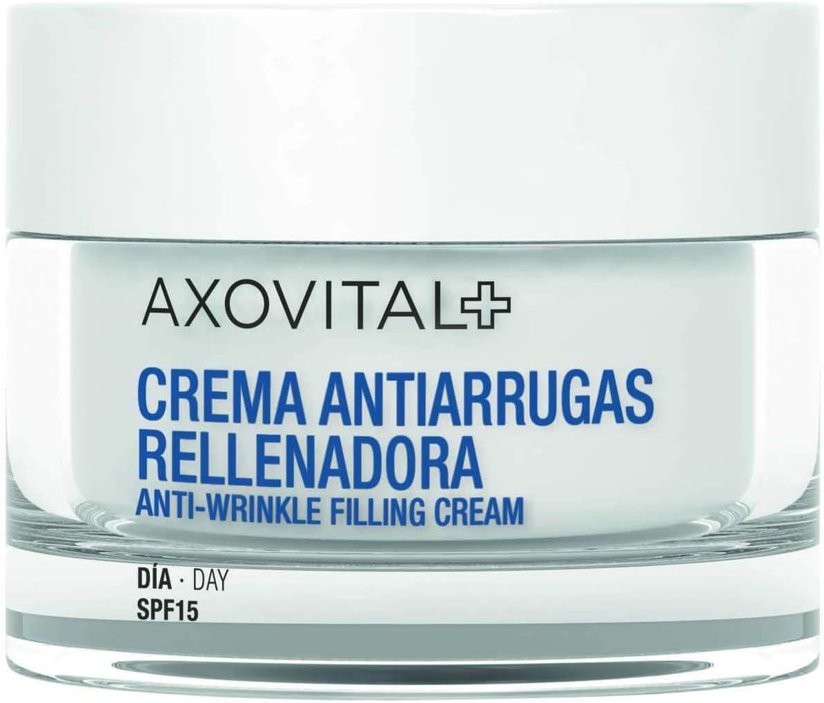 Axovital - Crema de Día SPF15 con Textura Cremosa - 50 ml.: Amazon.es: Alimentación y bebidas