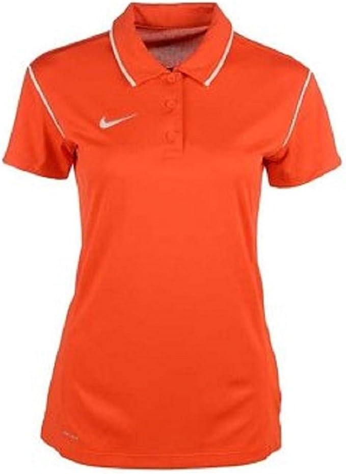 Nike Gung-ho Polo de la Mujer, Anaranjado: Amazon.es: Deportes y ...
