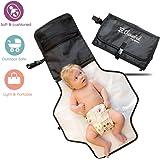 ztrome Portable Baby Diaper Changing Kit, Black