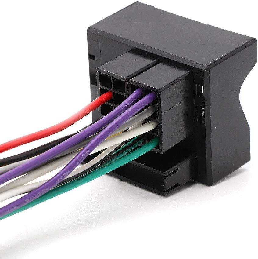 Siwetg Auto Stereo Radio Iso Kabel Verdrahtung Stecker Adapter Für Peugeot 207 307 407 Küche Haushalt