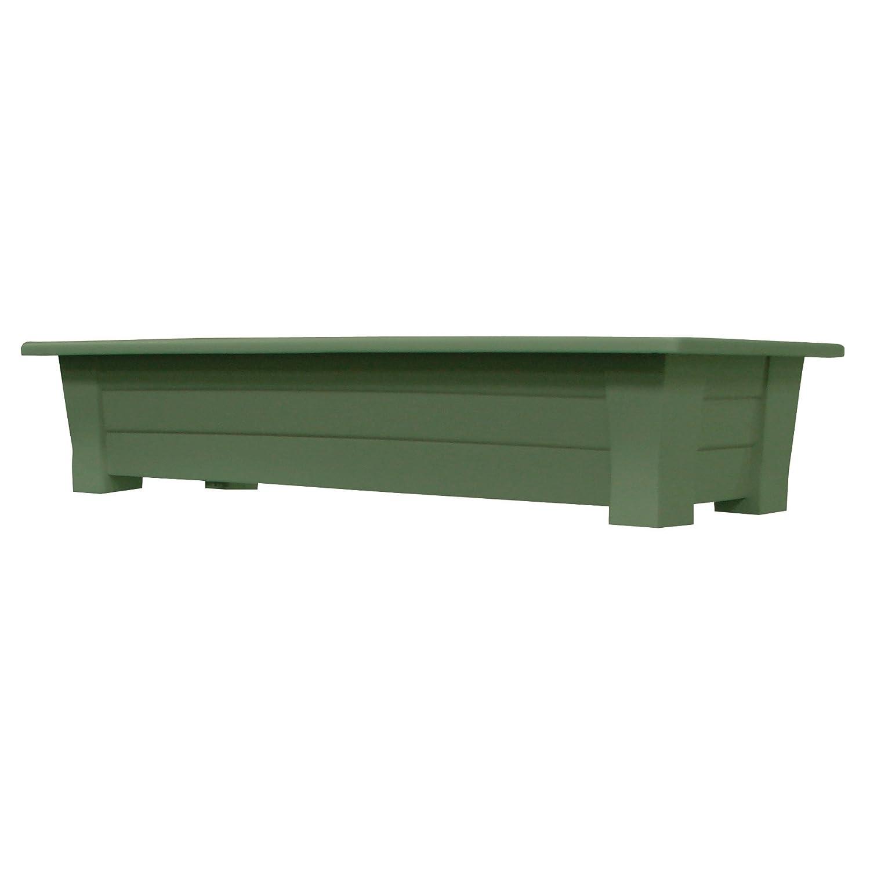 Amazon.com : Adams Manufacturing 9302 01 3700 36 Inch Deck Planter, Sage  Green : Planter Amazon : Garden U0026 Outdoor
