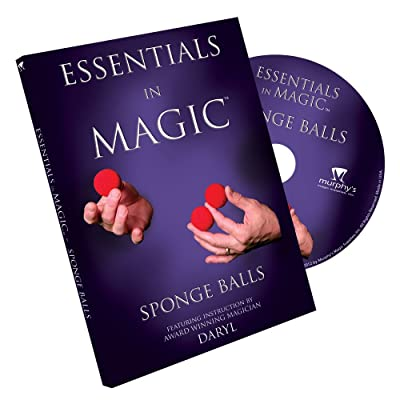 Essentials in Magic Sponge Balls - DVD: Toys & Games