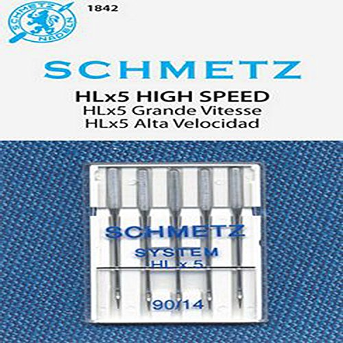Big Save! SCHMETZ HLX5 High-Speed Professional Quilting Needles - Carded - Size 90/14