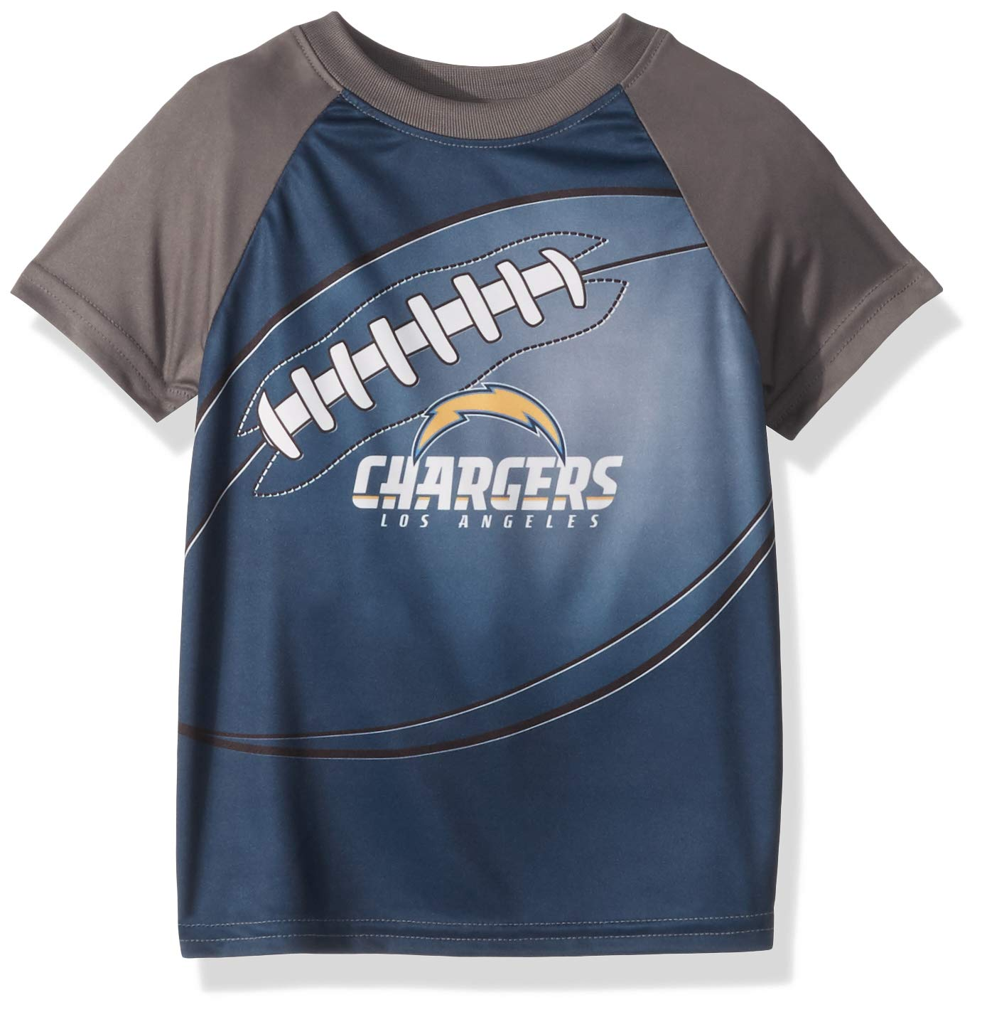 0ad85716 NFL Los Angeles Chargers Male Short sleeve Tee, Blue, 4T